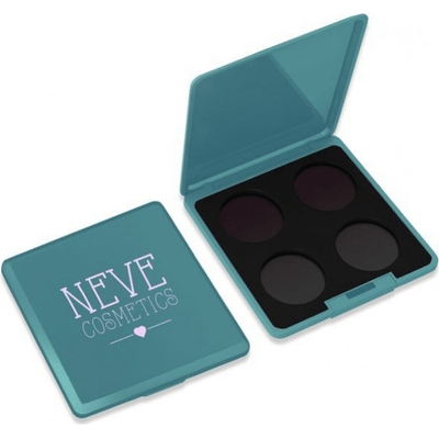 Paleta magnetyczna personalizowana na 4 kolory - Teal Trip Neve Cosmetics