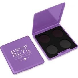 Neve Cosmetics Paleta magnetyczna personalizowana na 4 kolory - Violet Vision