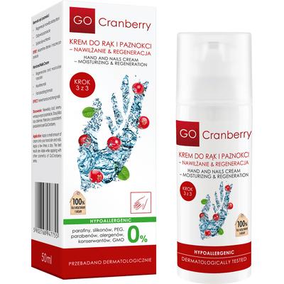 Krem do rąk i paznokci - Nawilżanie i regeneracja GoCranberry