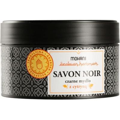 Savon Noir - czarne mydło z cytryną Mohani