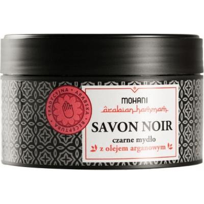 Savon Noir - czarne mydło z olejem arganowym Mohani