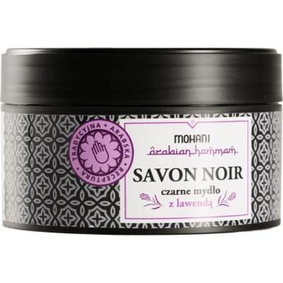 Savon Noir - czarne mydło z lawendą Mohani
