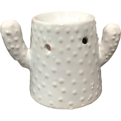 Kominek do wosków: Kaktus (biały) Kringle Candle