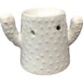 Kominek do wosków: Kaktus (biały)