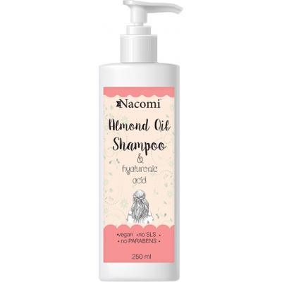 Szampon do włosów z olejem ze słodkich migdałów Nacomi