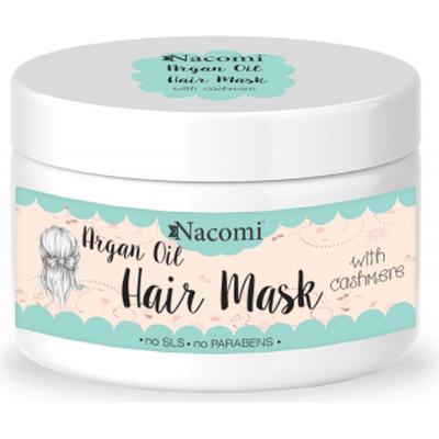 Maska do włosów z olejem arganowym i proteinami kaszmiru Nacomi