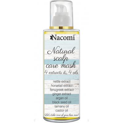 Naturalna olejowa maska do skóry głowy Nacomi