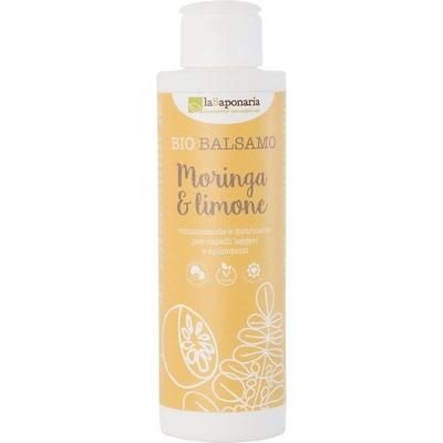 BIO Odżywka do włosów zwiększająca objętość - Moringa i cytryna La Saponaria