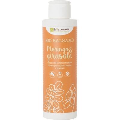 BIO Odżywka do włosów suchych i farbowanych - Moringa i słonecznik La Saponaria