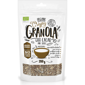 Diet Food Bio granola z kakao - Granola with Cacao, 200 g