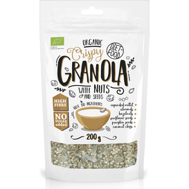 Diet Food Bio granola z orzechami - Granola with Nuts, 200 g