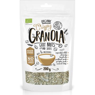 Bio granola z orzechami - Granola with Nuts Diet Food