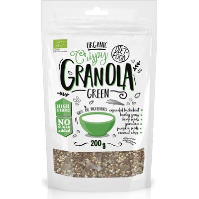 Bio zielona granola - Green Granola Diet Food