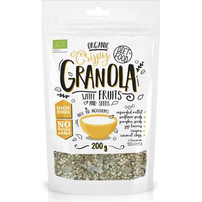 Bio granola z owocami - Granola with Fruits Diet Food