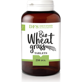 Diet Food Bio Wheat Grass - Trawa pszenicy - suplement diety w tabletkach