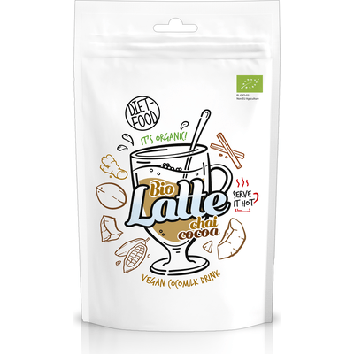 Napój na bazie bio mleka kokosowego - Latte Cocoa Chai Diet Food