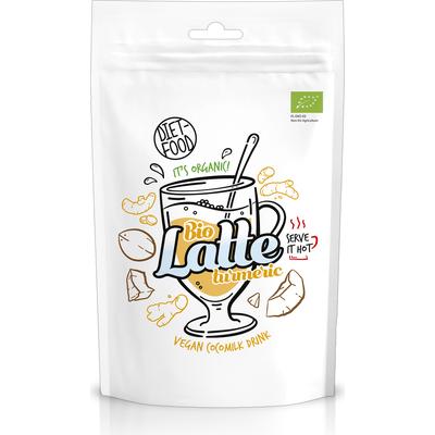 Napój na bazie bio mleka kokosowego z kurkumą - Latte Turmeric Diet Food