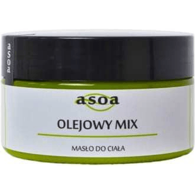 Masło do ciała - Olejowy mix Asoa