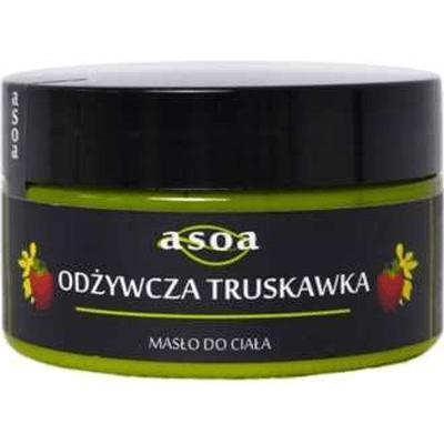 Masło do ciała - Odżywcza truskawka Asoa