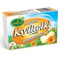 Drażetki pudrowe o smaku pomarańczy