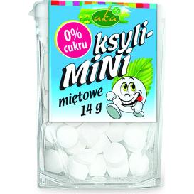 AKA Ksyli-mini - drażetki pudrowe o smaku miętowym