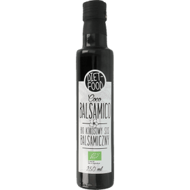 Diet Food Bio kokosowy sos balsamiczny - Coco Balsamico, 250 ml