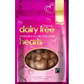 Plamil Serca czekoladowe bez cukru glutenu laktozy i orzechów