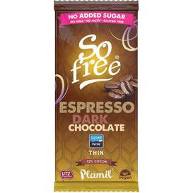 Plamil Czekolada o smaku espresso z ksylitolem So free