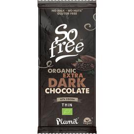 Plamil Czekolada So free BIO Extra Dark z 87% kakao