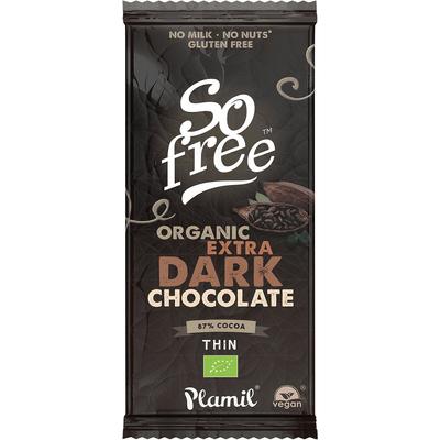 Czekolada So free BIO Extra Dark z 87% kakao  Plamil