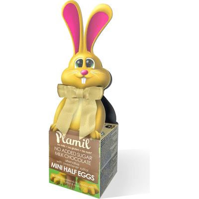 Wielkanocne czekoladki bez glutenu cukru i laktozy - Zajączek Plamil