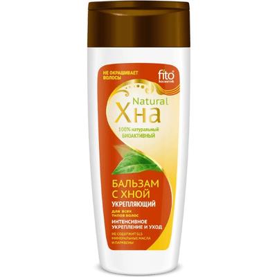 Wzmacniający balsam ochronny z henną dla wszystkich typów włosów Fitocosmetic