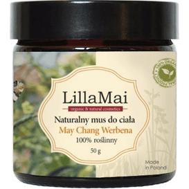 LillaMai Naturalny mus do ciała - May Chang Werbena
