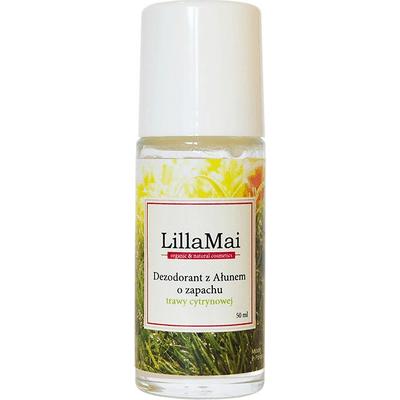 Dezodorant z ałunem o zapachu trawy cytrynowej LillaMai