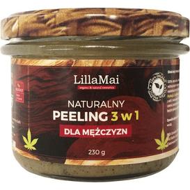 LillaMai Naturalny peeling 3 w 1 dla mężczyzn