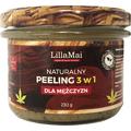 Naturalny peeling 3 w 1 dla mężczyzn