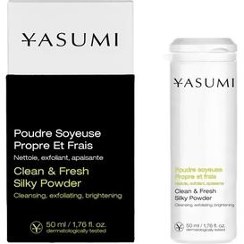 Yasumi Clean & Fresh Silky Powder - Puder do codziennego oczyszczania skóry, 50 ml