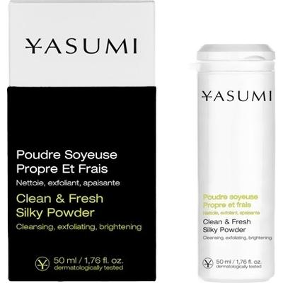 Clean & Fresh Silky Powder - Puder do codziennego oczyszczania skóry Yasumi