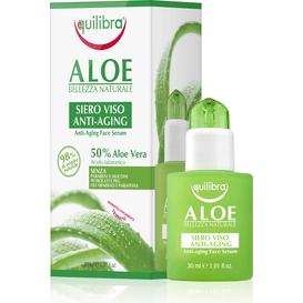 Equilibra Aloesowe przeciwstarzeniowe serum do twarzy z kwasem hialuronowym, 30 ml