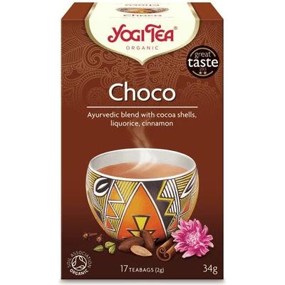 Herbata korzenna czekoladowa - Choco BIO Yogi Tea