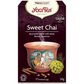 Yogi Tea Herbata chai - Słodki chai - Sweet chai BIO
