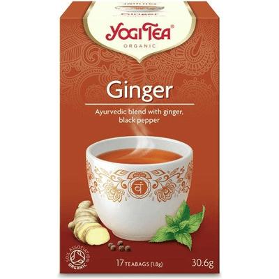 Herbata ziołowa - Imbir - Ginger BIO Yogi Tea