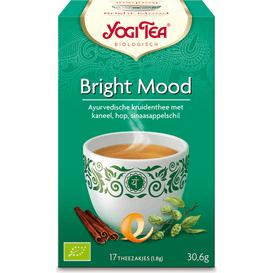 Yogi Tea Herbata ziołowa na dobry nastrój - Bright mood BIO