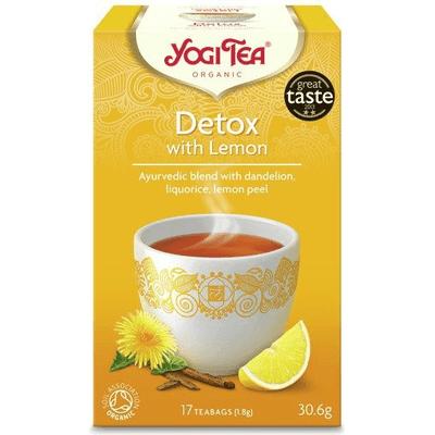 Herbata ziołowa - Detoks z cytryną - Detox with lemon BIO Yogi Tea
