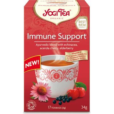 Herbata ziołowa na odporność - Immune support BIO Yogi Tea
