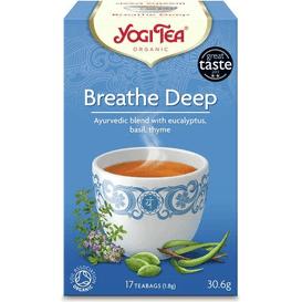 Yogi Tea Herbata ziołowa na swobodny oddech - Breathe deep BIO