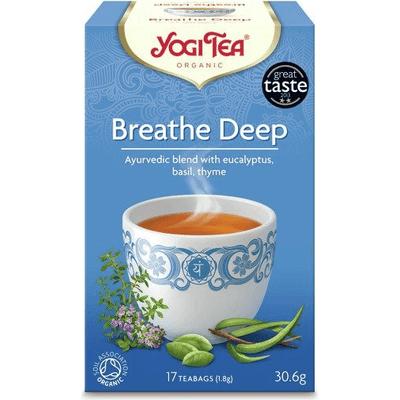 Herbata ziołowa na swobodny oddech - Breathe deep BIO Yogi Tea