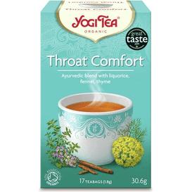 Yogi Tea Herbata ziołowa na gardło - Throat comfort BIO
