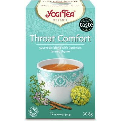 Herbata ziołowa na gardło - Throat comfort BIO Yogi Tea
