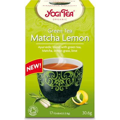 Herbata zielona matcha z cytryną - Matcha lemon BIO Yogi Tea